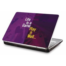 Clublaptop LSK CL 115: Life is a Game - Play it Well Laptop Skin