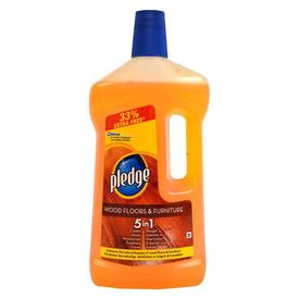 Pledge 5in1Wooden Floor None Floor Cleaner (1 L)