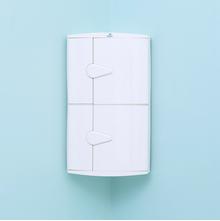 2 Doors Blooms Storage Cabinet - @home Nilkamal,  ivory