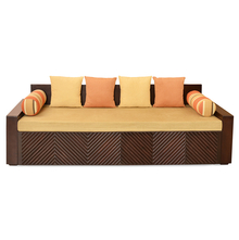 Ohio Sofa Cum Bed - @home By Nilkamal,  brown