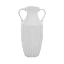 Snow 17 cm x 32 cm Vase - @home by Nilkamal, White