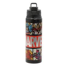 Alu Avengers 750 ml Sports Bottle, Black