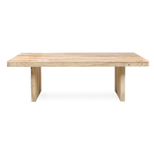 Delmonte 8 Seater Dining Table - @home By Nilkamal, White Natural