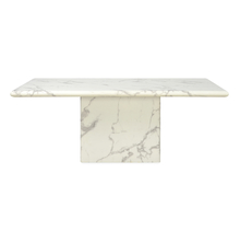 Desire 8 Seater Dining Table, White