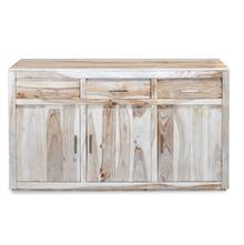 Delmonte Buffet - @home By Nilkamal, White Natural