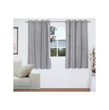 Opus 2 Pieces Window curtain 112X152CM, Grey