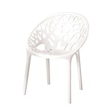 Nilkamal Crystal PP Chair,  white