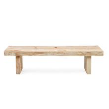 Delmonte 3 Seater Dining Bench - @home By Nilkamal, White Natural