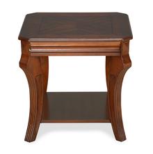 Fuller Side Table - @home by Nilkamal, Walnut