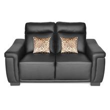 Karen 2 Seater Sofa - @home By Nilkamal, Black