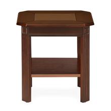 Cindy Side Table, Bronze Walnut