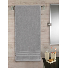 Zerotwist 70 cm x 140 cm Bath Sheet, Grey