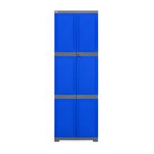 Nilkamal Freedom Mini Large Storage Cabinet Fml, Blue/Grey