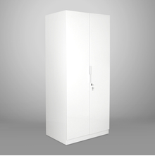 Fusion 2 Door Wardrobe - @home by Nilkamal, White