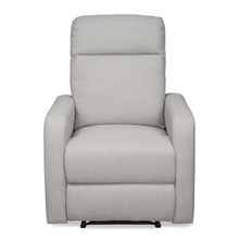 Mayfair 1 Seater Sofa with Electric Recliner - @home by Nilkamal, Light grey