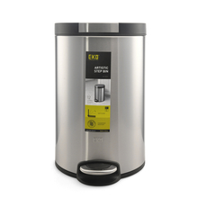 12 Litre Dustbin - @home By Nilkamal, Silver