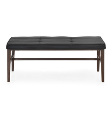 Symphony Dining Bench with Cushion - @home by Nilkamal, Walnut