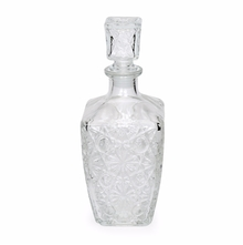 Dedalo 78 ML Decanter with Lid - @home by Nilkamal, Clear