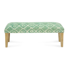 Spatial Bench, Beige & Green