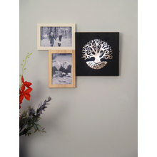 Photo Frame 36X29CM LED Tree, 2 Picture