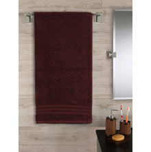 Zerotwist 60 cm x 120 cm Bath Sheet, Brown