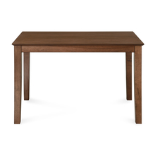 Jessica 4 Seater Dining Table, Mindi Brown