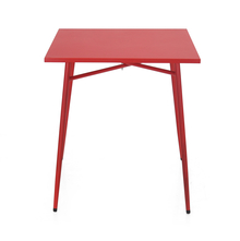 Ruby Garden Table - @home By Nilkamal, Red