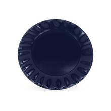 Stoneware Dinner Plate, Indigo