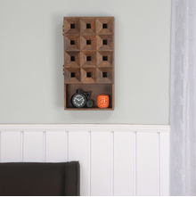 Colton Vertical Wall Cabinet, Walnut