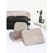 3 Pieces Set Travelling Bag, Grey