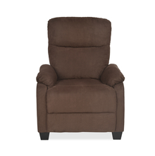 Rheus 1 Seater Sofa With Push Back, Dark Brown