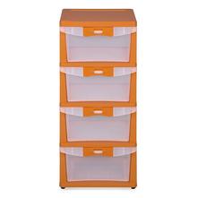 Nilkamal Chester Storage Drawer Series -24,  orange