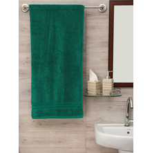 Zerotwist 80 cm x 160 cm Shower Towel, Emerald
