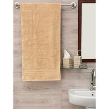 Zerotwist 80 cm x 160 cm Shower Towel, Beige
