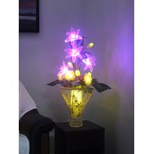 Oriental Lily Floor Lamp, Pink
