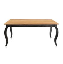 Miraya 6 Seater Dining Table - @home By Nilkamal, Silver Grey