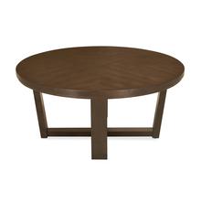 Bernice Center Table, Dark Brown
