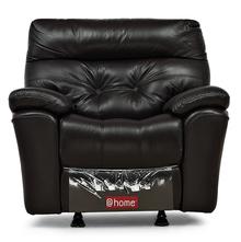 Beverly 1 Seater Sofa With Rocker Recliner- @home Nilkamal,  burgundy