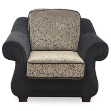 Apollo 1 Seater Sofa - @home Nilkamal,  black