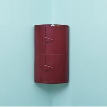 2 Door Blooms Storage Cabinet - @home Nilkamal,  maroon