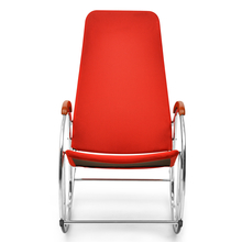 Nilkamal Dylan Rocking Chair, Red