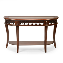 Pisces Console Table, Classic Walnut