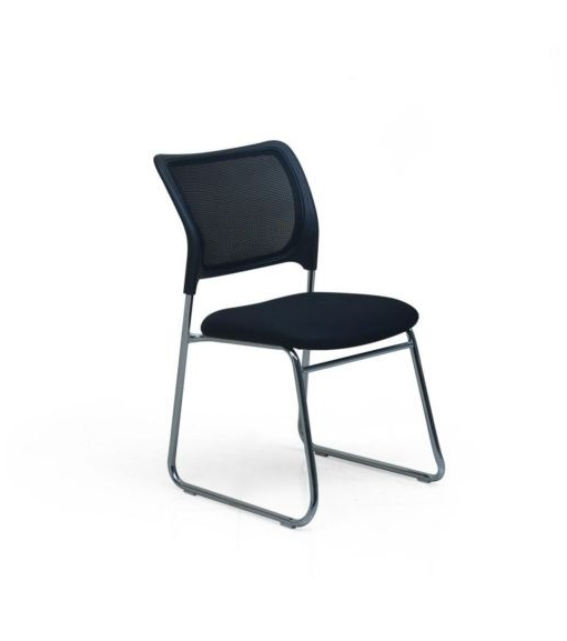 Nilkamal Vega Mesh Chair,  black