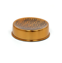 Ogee Soap Dish, Gold