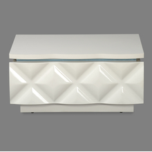 Margery Night Stand - @home by Nilkamal, White