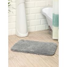 Microfiber 40 cm x 60 cm Bathmat, Grey