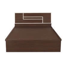 Maverick Queen Bed With Storage, Walnut