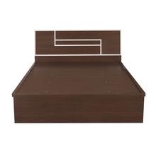 Maverick Queen Bed+ Dresser+ Night Stand Kit, Walnut