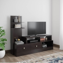 Aroy Low Height Wall Unit, Cappucino