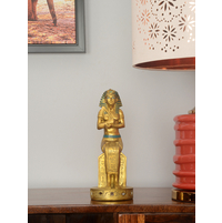 Sitting Pharaoh 12X10X26CM Showpiece, Gold